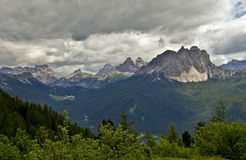 Dolomites Photo libre de droits