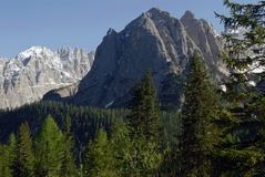 The Dolomites. Northern Italy in the springtime Stock Photo