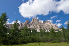Dolomites. Antelao mountain in Dolomites of Italy Stock Photography