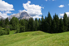Dolomites. Antelao mountain in Dolomites of Italy Royalty Free Stock Photography
