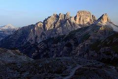 Dolomites Arkivfoto