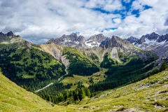 Dolomites 100 Fotografia de Stock Royalty Free