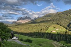 dolomites Fotos de Stock Royalty Free