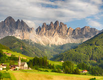 Dolomites alps, Mountain - Val di Funes Royalty Free Stock Images