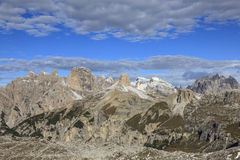 Dolomites in the alps Royalty Free Stock Photos