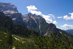 Dolomites, Antelao Mountain Stock Image