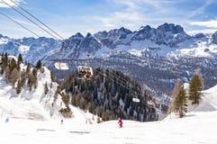 Dolomites chez Cortina D& x27 ; Ampezzo, Italie Photographie stock