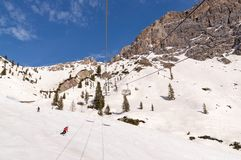 Dolomites chez Cortina D& x27 ; Ampezzo, Italie Images stock