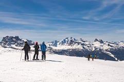 Dolomites chez Cortina D& x27 ; Ampezzo, Italie Images libres de droits