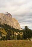 Dolomites, cima del passo. Falzarego Stock Photo