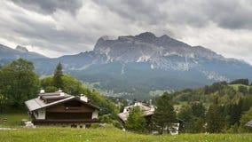 Dolomites and Cortina dAmpezzo, Italy Stock Photo