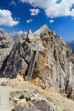 Dolomites - Costabella peak Stock Photography