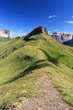 Dolomites - Crepa Neigra, Canazei Royalty Free Stock Images