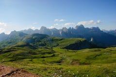 Dolomites d'aube Photo stock