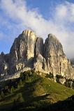 Dolomites d'horizontal Photographie stock libre de droits