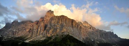Dolomites d'horizontal Images libres de droits