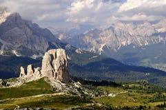 Dolomites d'horizontal Images stock