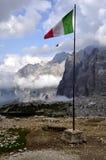 Dolomites d'horizontal Photo stock