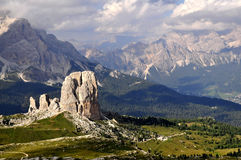 Dolomites da paisagem Imagens de Stock