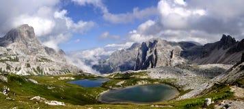 Dolomites da paisagem Fotografia de Stock Royalty Free