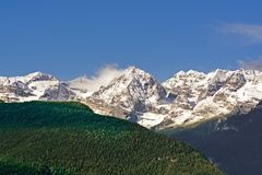 Dolomites de Brenta, Italie Photographie stock