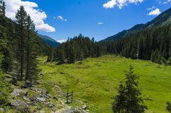 Dolomites de Lienz - Áustria Imagens de Stock