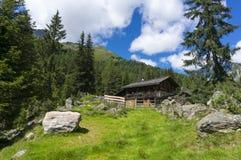 Dolomites de Lienz - Áustria imagem de stock
