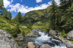 Dolomites de Lienz - Áustria Foto de Stock Royalty Free