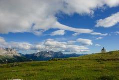 Dolomites de parc naturel Sciliar-Rosengarten Image stock
