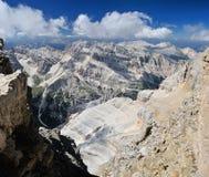 Dolomites de Sexten Foto de Stock Royalty Free