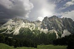 Dolomites de Val Gardena photos stock