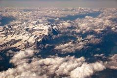 Dolomites des aéronefs Images libres de droits