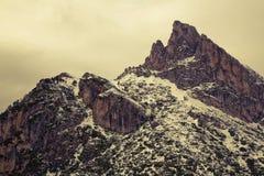 Dolomites do inverno fotografia de stock