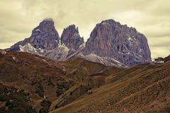 Dolomites do inverno fotos de stock royalty free