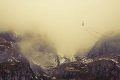 Dolomites do inverno imagens de stock royalty free