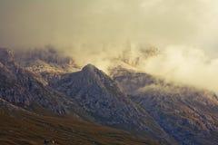 Dolomites do inverno imagem de stock royalty free