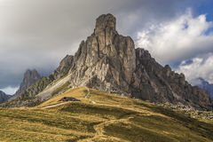 Dolomites. Dolomite in the Alps ,summer 2015, by Artist Christian Brogi Royalty Free Stock Images