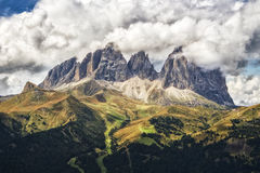 Dolomites. Dolomite in the Alps ,summer 2015, by Artist Christian Brogi Royalty Free Stock Photo