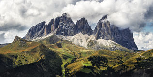 Dolomites. Dolomite in the Alps ,summer 2015, by Artist Christian Brogi Stock Image