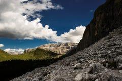 Dolomites en été Image libre de droits