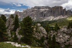 Dolomites en été Photos libres de droits