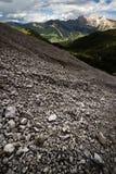 Dolomites en été Image stock