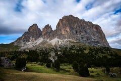 Dolomites en été Images libres de droits