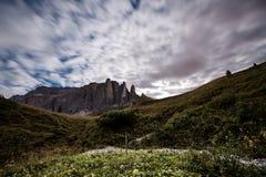 Dolomites en été Photographie stock libre de droits