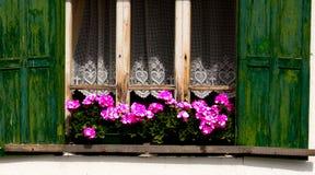 Dolomites fönster, Italien royaltyfri bild