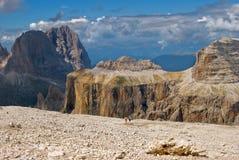 Dolomites géantes Photo libre de droits