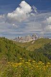 Dolomites hike Stock Image