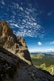 Dolomites i sommar Arkivfoto