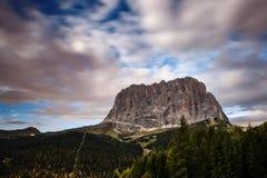Dolomites i sommar Arkivfoton