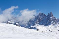 Dolomites italianas Fotografia de Stock Royalty Free